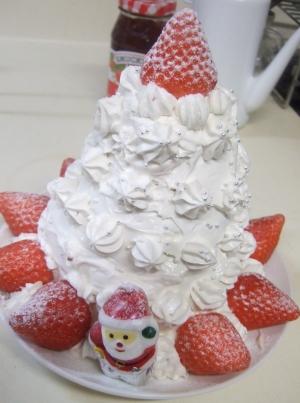 20101225クリスマスケーキ4