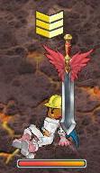 聖剣中級血翼剣