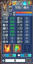 剣上級ペット55ステ