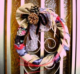 お正月の玄関飾り