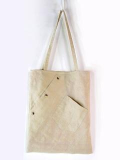シャツから作るトートバッグ