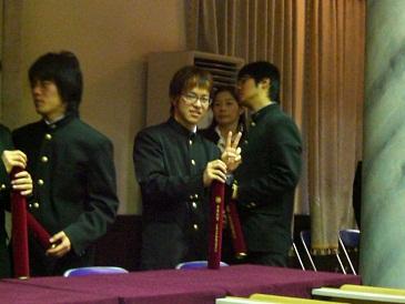 カズ卒業式3