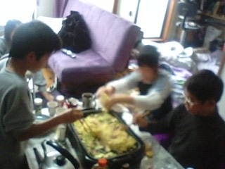 20110123焼きそば作り1
