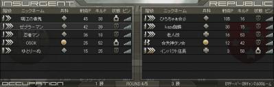 クラン戦対TEAM☆HIRO結果3
