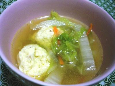 11-26 肉団子スープ