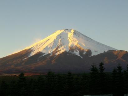 12-6 早朝の富士山