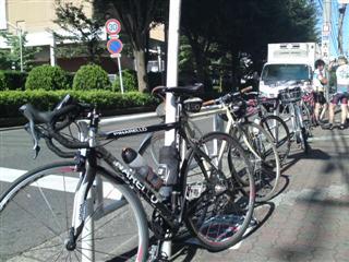 ひさびさ大人数のサイクリング