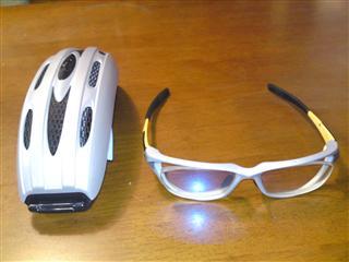 パリミキ自転車メガネ