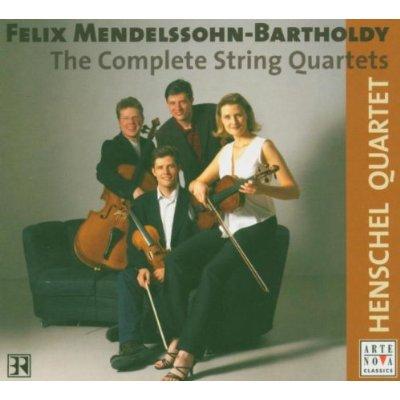 ヘンシェルカルテットのメンデルスゾーン弦楽四重奏曲
