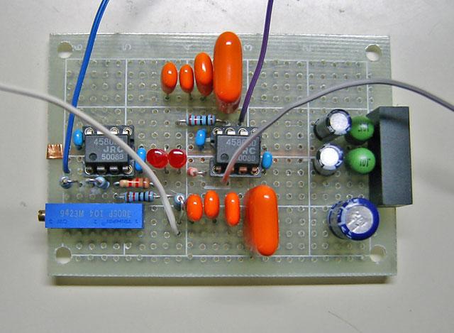 状態変数型発振回路写真1