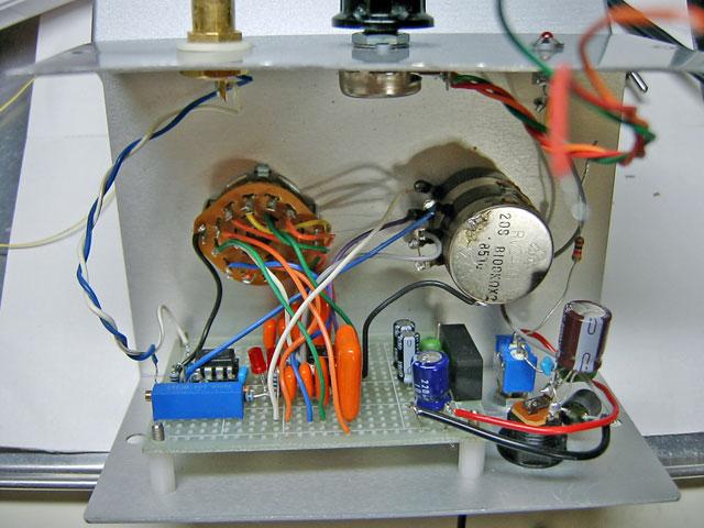 状態変数型発振回路ケース入