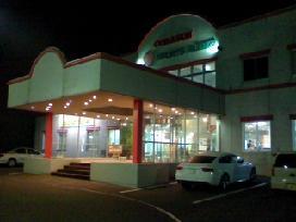 夜のコラソン入口