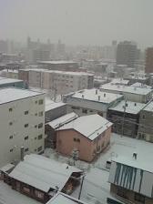 本格的な雪の季節?
