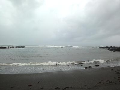 神奈川県三浦半島、荒井浜海岸にある海上亭でBBQ
