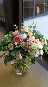NFD三級丸い花束
