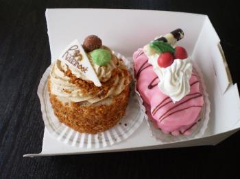 近所のケーキ屋