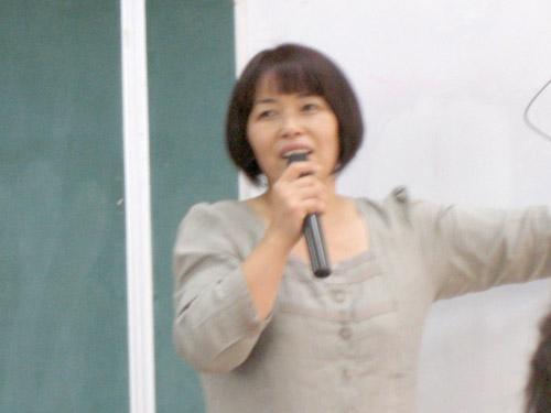くさか里樹さん講演1