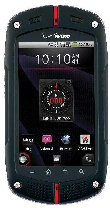 Verizon カシオ製のG'zOneスマートフォンCommando 発表