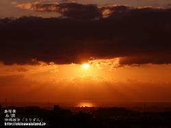 糸満,夕日