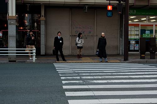 浜松交差点の四人