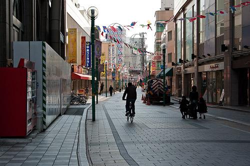 商店街の風景