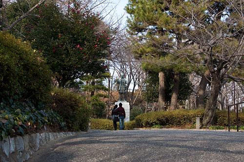 浜松城家康像