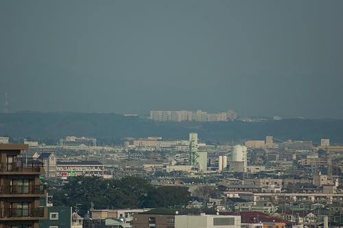 浜松城天守からの眺め
