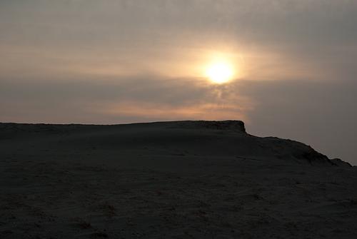 中田島砂丘起伏