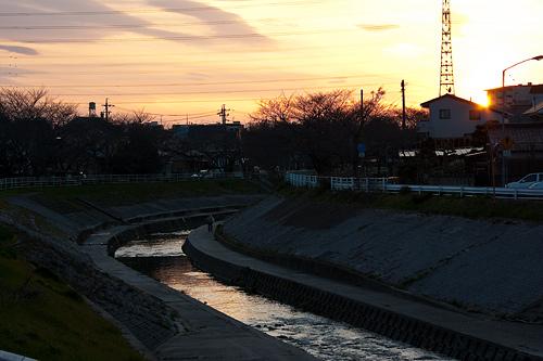 香流川沿い-12
