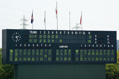 高校野球1-1