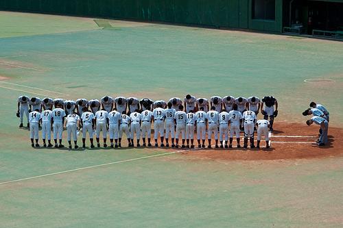 高校野球1-4