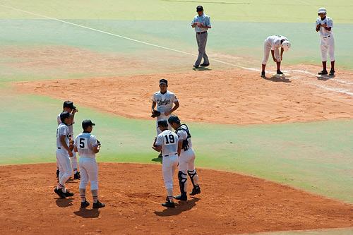 高校野球1-9