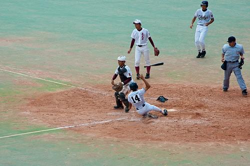高校野球2-8