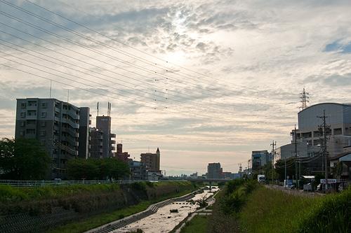 名古屋城帰り道-14