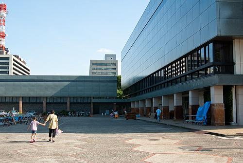 名古屋城帰り道-4