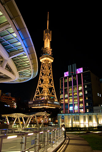 名古屋の夜-5