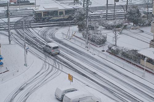 雪降り-3