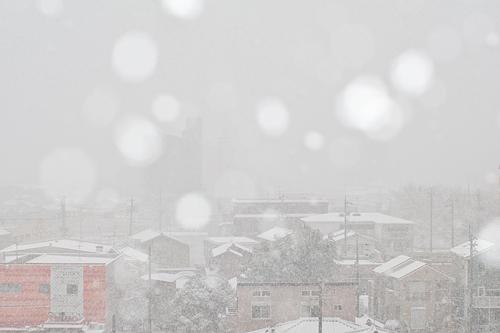 雪降り-8