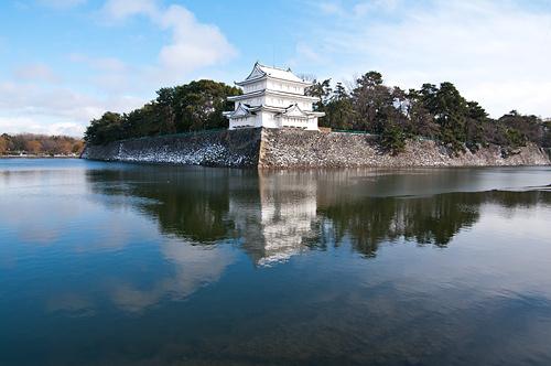雪の名古屋城2-1