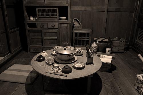 昭和日常博物館食卓風景