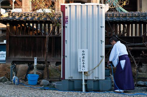 山田八幡宮神職