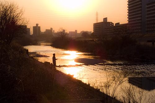 日曜の河川敷-12