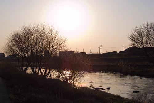 日曜の河川敷-6