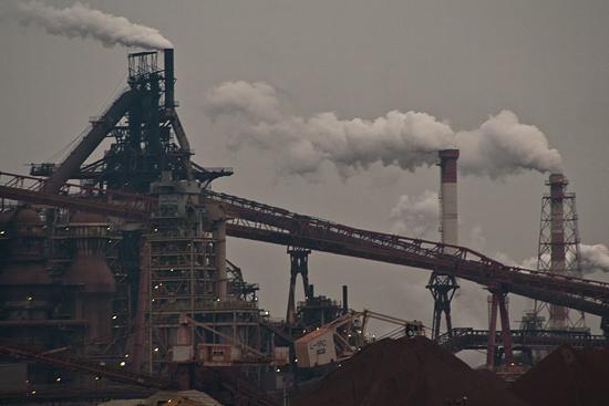 東海市新日本製鐵工場