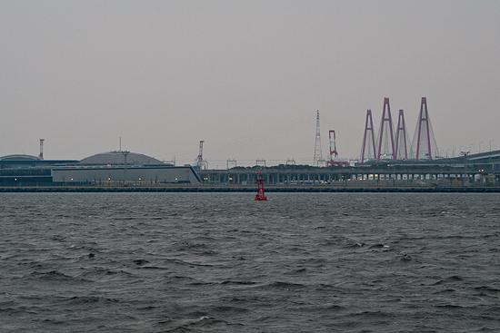 潮見から見る金埠頭