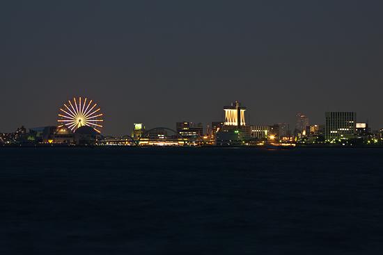 名古屋港の夜景