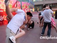 中国・西安でカップル・アイデア・キス大会を開催