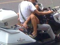 バイクのこんな乗り方ってありなの?