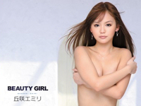 MUTEKI 第30弾芸能人 丘咲エミリ AVデビュー 「BEAUTY GIRL 丘咲エミリ」 11/1 リリース