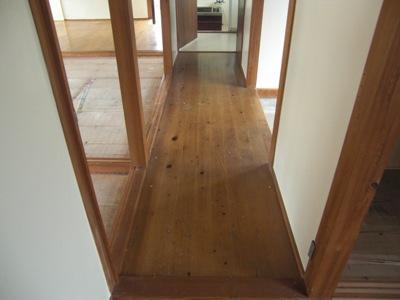 廊下の床 リフォーム